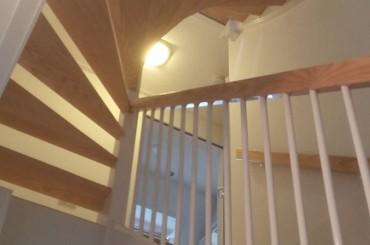 geschilderde trap